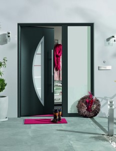 Hormann TPS 900 steel front entrance door