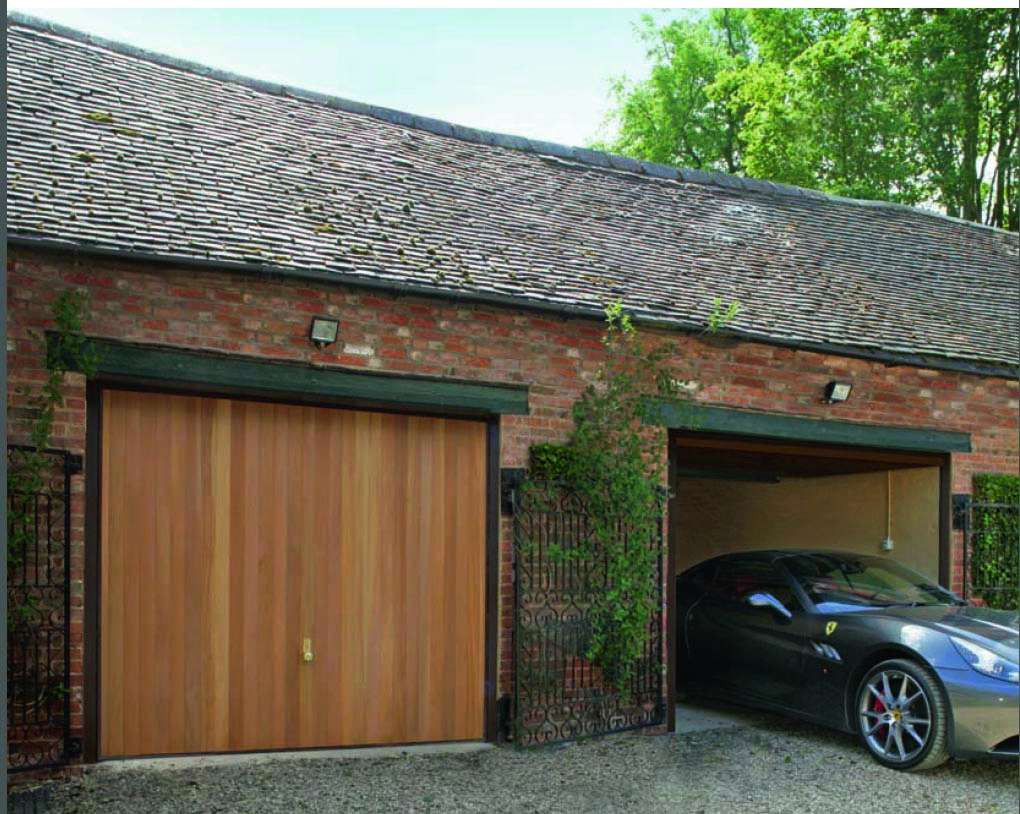 Timber Up And Over Garage Doors