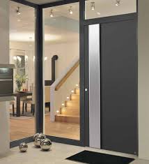 aluminium front entrance door finishes