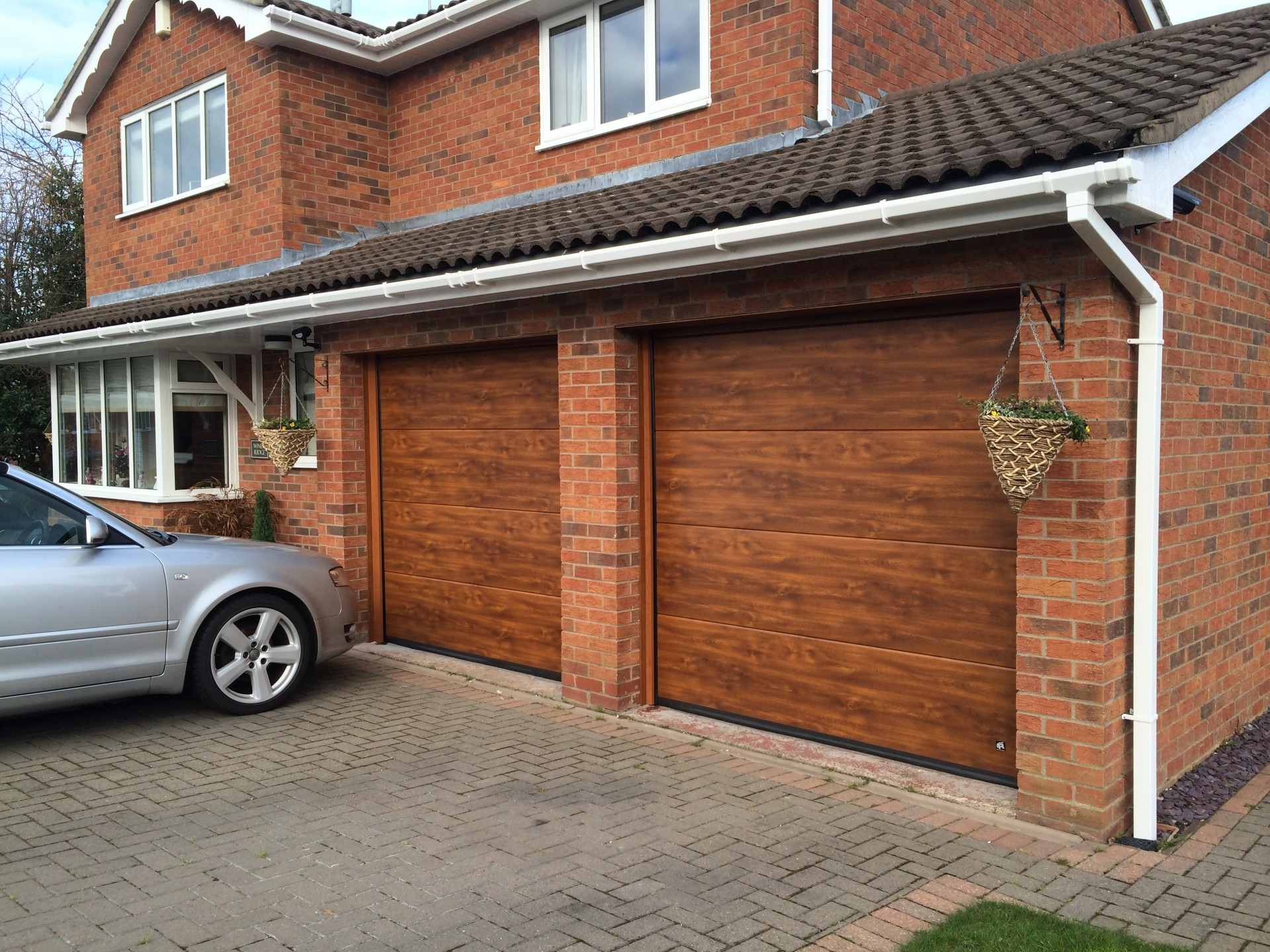 Wood Sectional Garage Doors : Adding warmth to your home