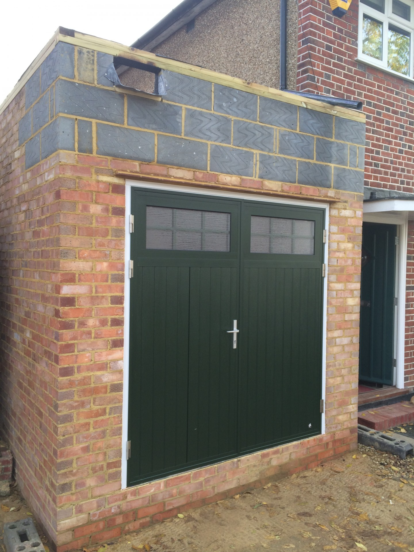 A winner in pinner for Garage side door and frame
